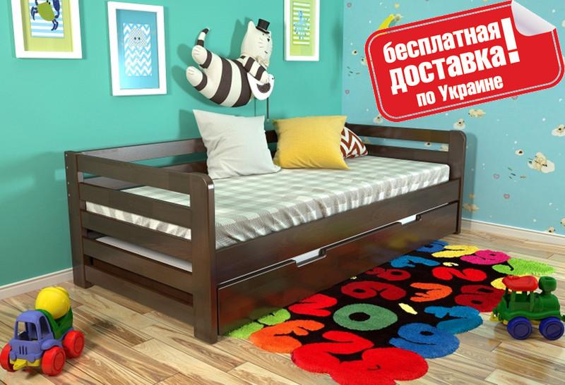 Односпальная деревянная кровать Немо Arbor
