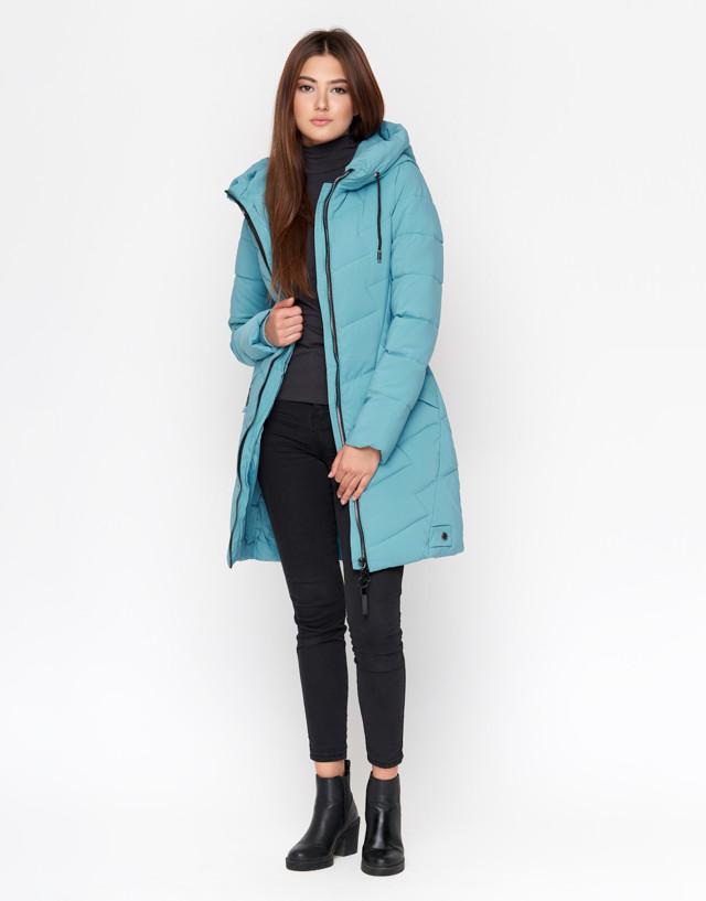 11 Kiro Tokao   Зимняя Женская Куртка 806 Голубая — в Категории ... 5fd64188c69