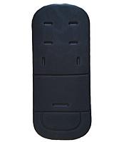 Матрасик - вкладыш в коляску Черный (05096), фото 1