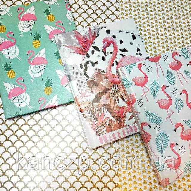 блокнот детский с фламинго купить