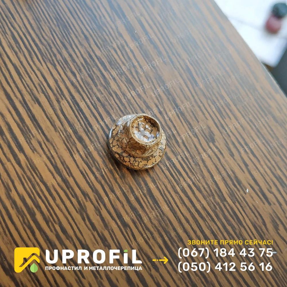 Саморезы Золотой Дуб для профнастила под дерево 4.8х19 по металлу