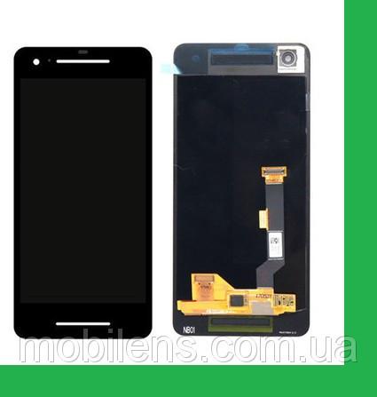 Google Pixel 2 Дисплей+тачскрин(сенсор) черный