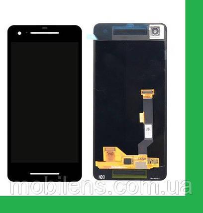 Google Pixel 2 Дисплей+тачскрин(сенсор) черный, фото 2