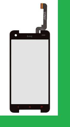 HTC Butterfly S, 901e (901s) Тачскрин (сенсор) черный, фото 2