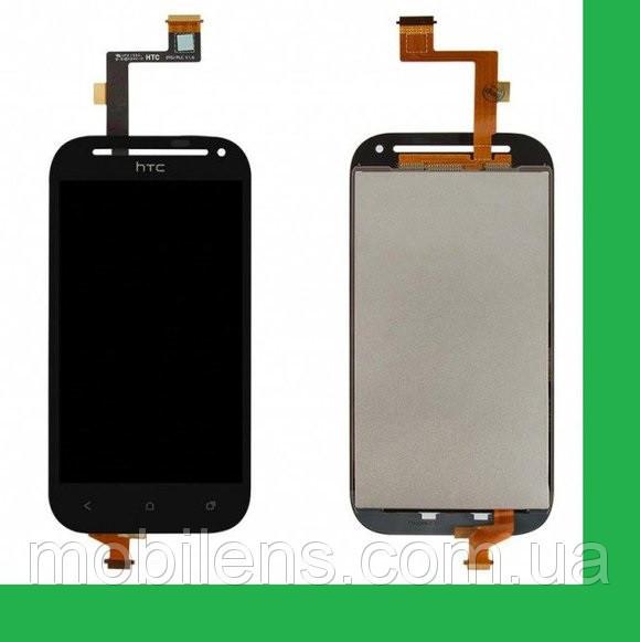 HTC C520e, One SV, T528t Дисплей+тачскрин(сенсор) черный