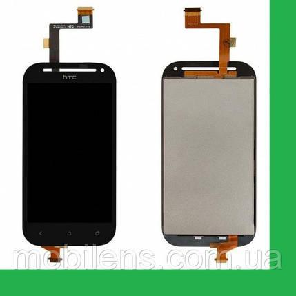 HTC C520e, One SV, T528t Дисплей+тачскрин(сенсор) черный, фото 2
