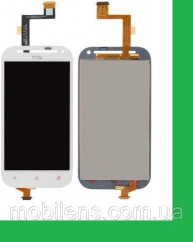 HTC C520e, One SV, T528t Дисплей+тачскрин(сенсор) белый