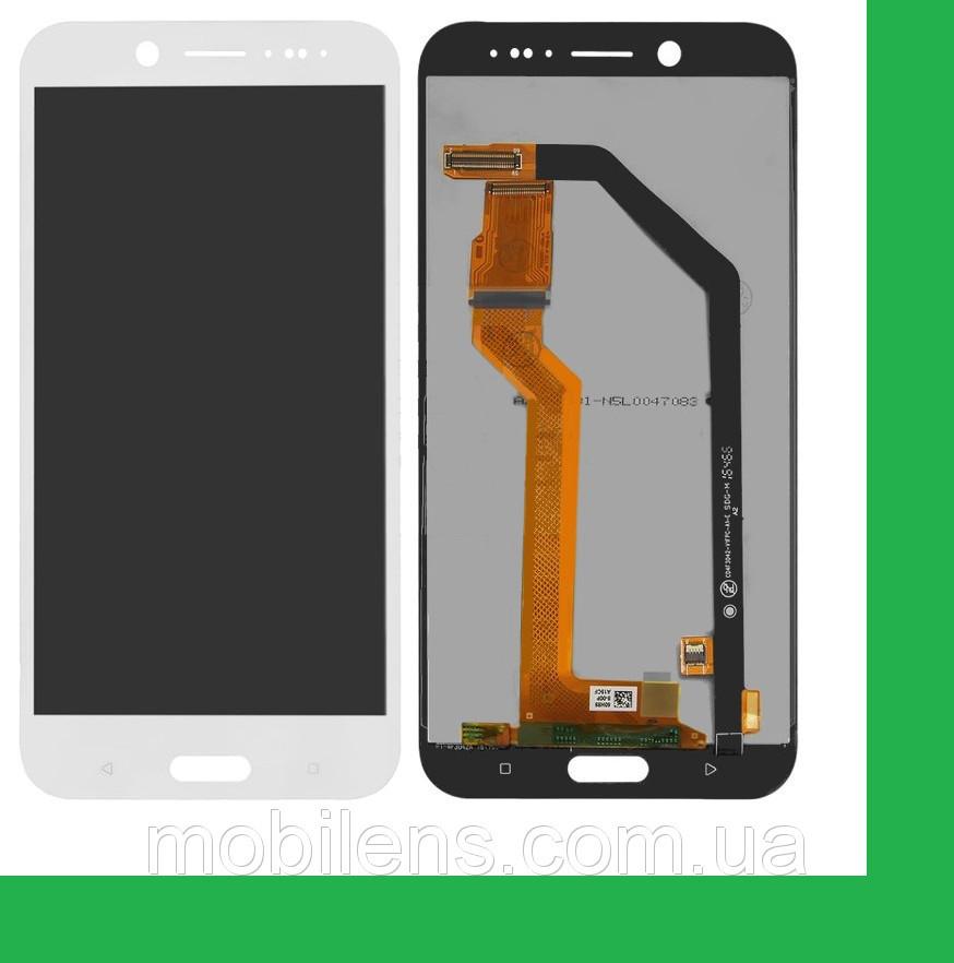 HTC 10 Evo, HTC Bolt 2PYB2 Дисплей+тачскрин(сенсор) белый