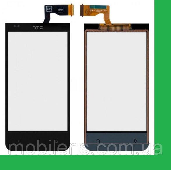 HTC Desire 300, HTC 300, Desire 301e Тачскрин (сенсор) чёрный