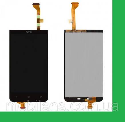 HTC Desire 501, HTC 501 Дисплей+тачскрин(сенсор) черный, фото 2