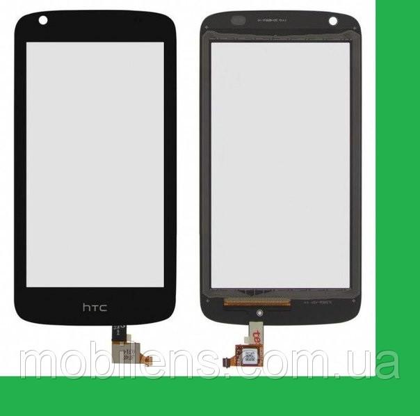 HTC Desire 526G, HTC 526G, 526G Dual (128*66мм) Тачскрин (сенсор) чёрный