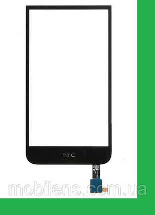 HTC Desire 616, HTC 616, 616 Dual Тачскрин (сенсор) чёрный, фото 2