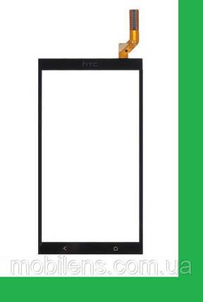 HTC Desire 700, HTC 700, 700 Dual Тачскрин (сенсор) чёрный, фото 2