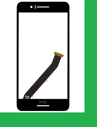 HTC Desire 728G, HTC 728G, 728G Dual Тачскрин (сенсор) чёрный, фото 2