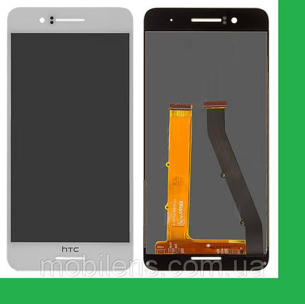 HTC Desire 728G, HTC 728G, 728G Dual Дисплей+тачскрин(сенсор) белый, фото 2