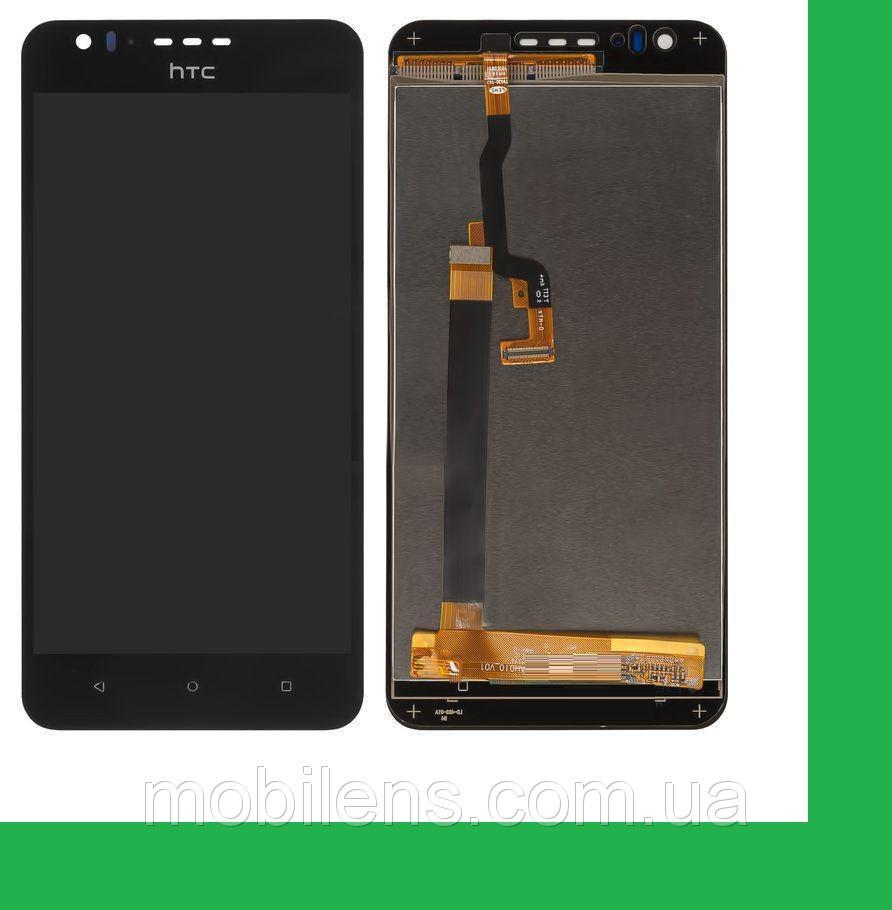 HTC Desire 10 Lifestyle Дисплей+тачскрин(сенсор) черный