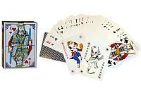Игральные карты с ламинированным покрытием, колода в 54шт., толщина 0,3мм. (9899)