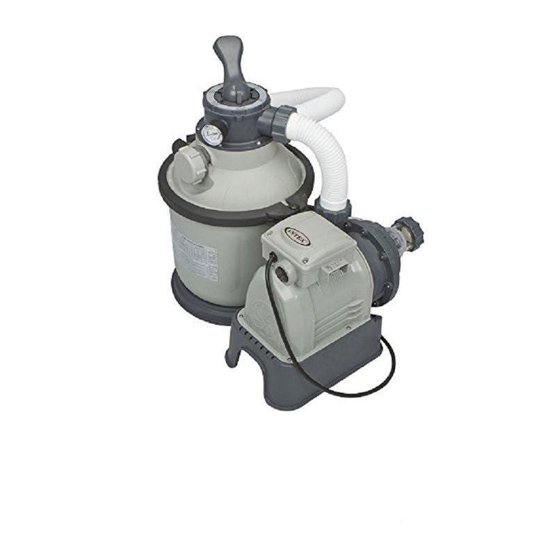 Пісочний насос фільтр Intex Sand Filter Pump, потужністю 4 500 лч. Фільтр для басейнів