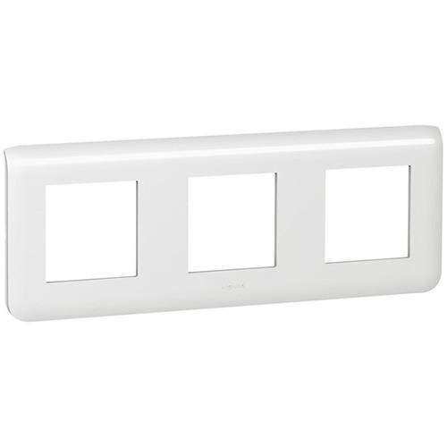 Купить Рамка для модулей 3х2 горизонтальная, Mosaic белый, Legrand