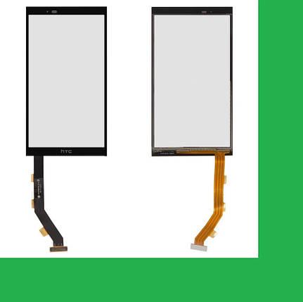 HTC One E9+, One E9 Plus Тачскрин (сенсор) черный, фото 2