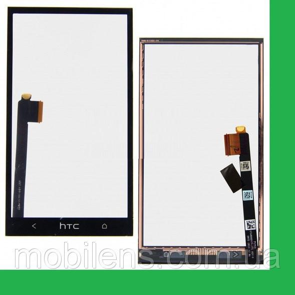 HTC One M7, 801e, 801n, PN07100, PN07110 Тачскрин (сенсор) чёрный