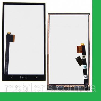 HTC One M7, 801e, 801n, PN07100, PN07110 Тачскрин (сенсор) чёрный, фото 2