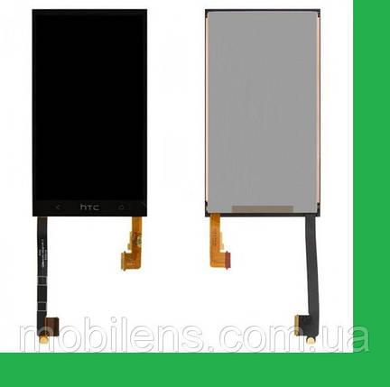 HTC One M7, 802w Dual, 802t, 802d, PN07710 Дисплей+тачскрин(сенсор) черный, фото 2