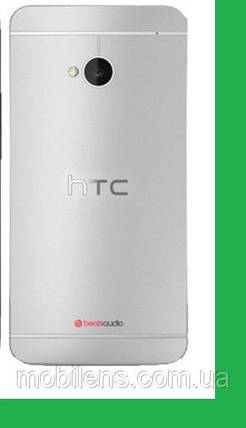 HTC One M7, 802w Dual, 802t, 802d, PN07710 Корпус серебристый, фото 2