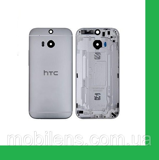 HTC One M8, One M8E Задняя крышка серая