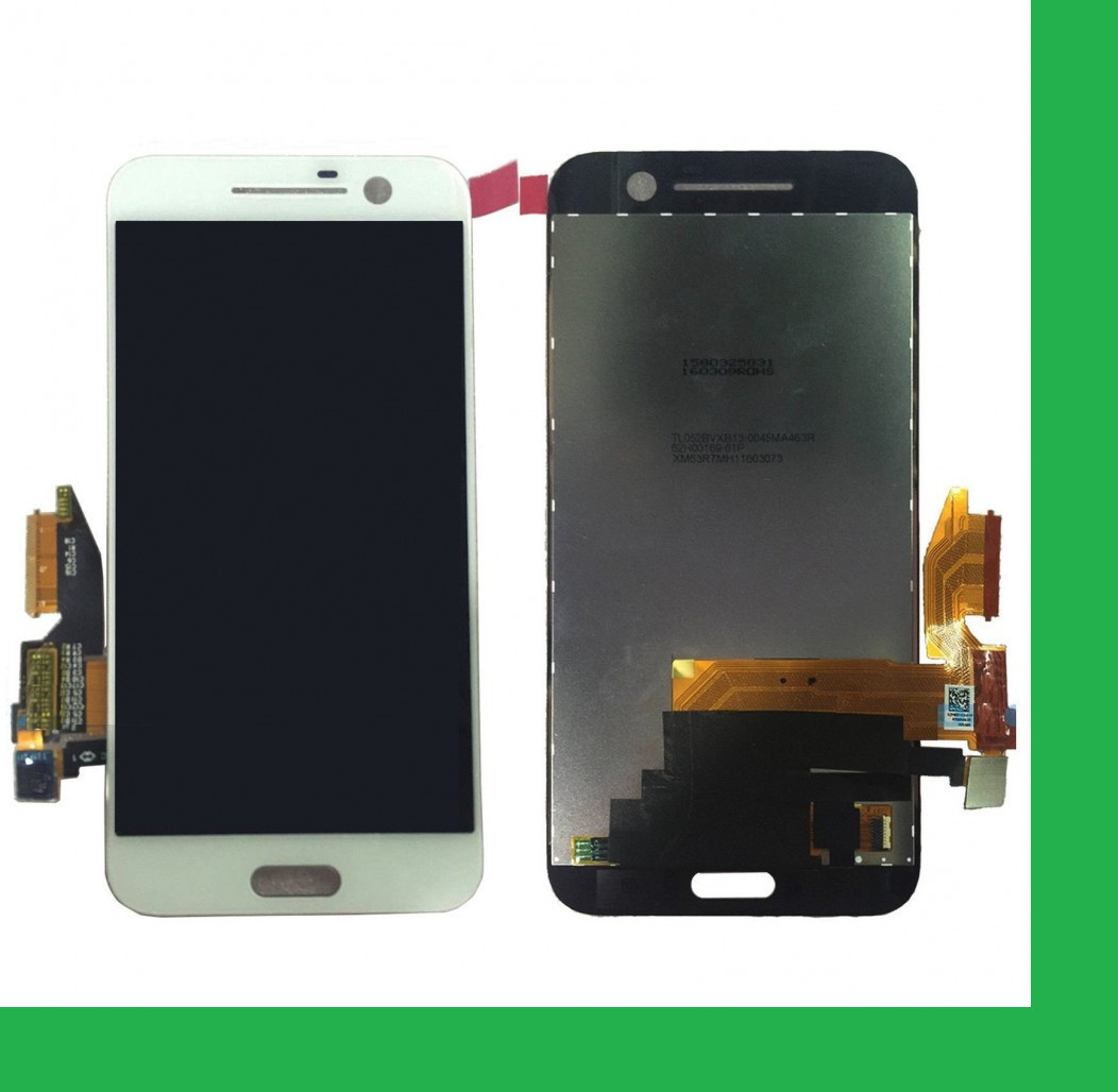 HTC One M10, HTC 10, 2PS64, 2PS6500, P2S6200 Дисплей+тачскрин(сенсор) белый