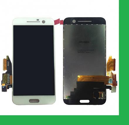 HTC One M10, HTC 10, 2PS64, 2PS6500, P2S6200 Дисплей+тачскрин(сенсор) белый, фото 2