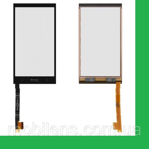HTC One mini, 601n, 601e, PO58200 Тачскрин (сенсор) чёрный