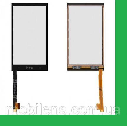 HTC One mini, 601n, 601e, PO58200 Тачскрин (сенсор) чёрный, фото 2