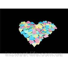 Вафельные сердечки маленькие 500 шт/упаковка