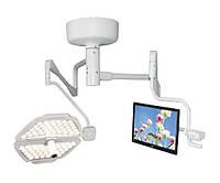 Лампа операционная подвесная PANALEX 1 HD (однокуп, двойная центральная ось, Full HD камера, монитор)