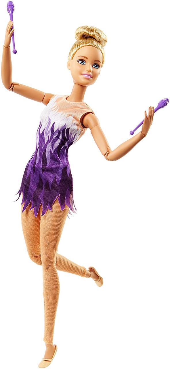 Кукла BarbieГимнасткаБезграничные движения Made to Move Rhythmic Gymnast