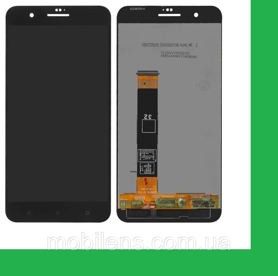 HTC One X10 Дисплей+тачскрин(сенсор) черный