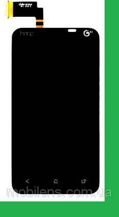 HTC T328t, Desire VT Дисплей+тачскрин(сенсор) черный, фото 2