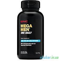 Мужские витамины GNC Mega Men One Daily (60 таб) гнс мега мен ван дейли для мужчин