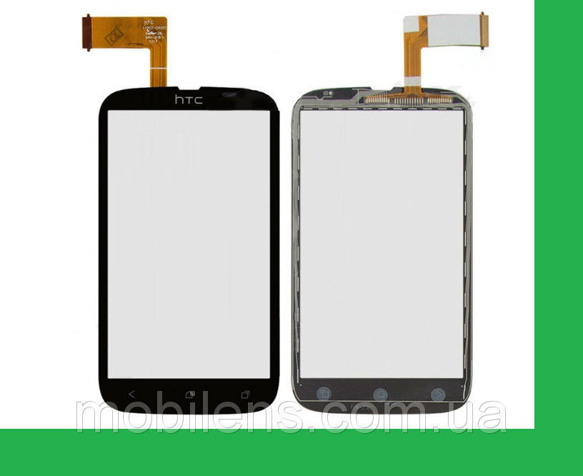 HTC T328w, Desire V, Desire U T327W Тачскрин (сенсор) чёрный