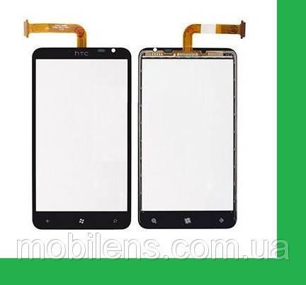 HTC X310e, Titan Тачскрин (сенсор) чёрный, фото 2