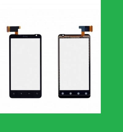 HTC X710e, Vivid G9, Raider 4G Тачскрин (сенсор) чёрный, фото 2