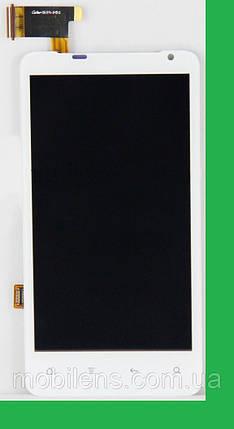 HTC X710e, Vivid G9, Raider 4G Дисплей+тачскрин(сенсор) белый, фото 2