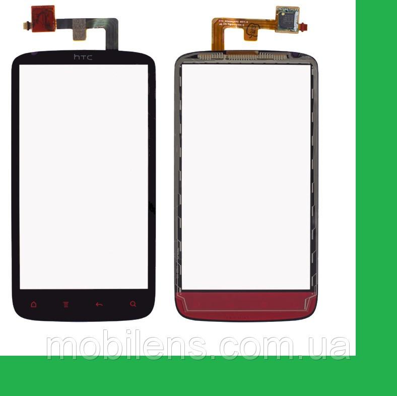 HTC Z710e, Sensation, PG58130, PG58100 Тачскрин (сенсор) чёрный