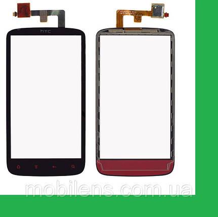 HTC Z710e, Sensation, PG58130, PG58100 Тачскрин (сенсор) чёрный, фото 2
