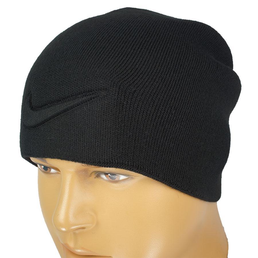 Тепла чорна чоловіча шапка N 18 black