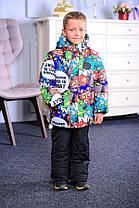 Зимняя куртка  для мальчика Макс принт 1