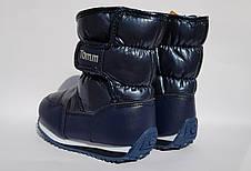 Зимние сапожки, дутики Tom.m,для мальчиков,синие 24р, фото 3