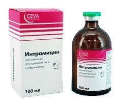 Интрамицин ин., 100мл