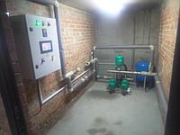 Станціями підвищення тиску води